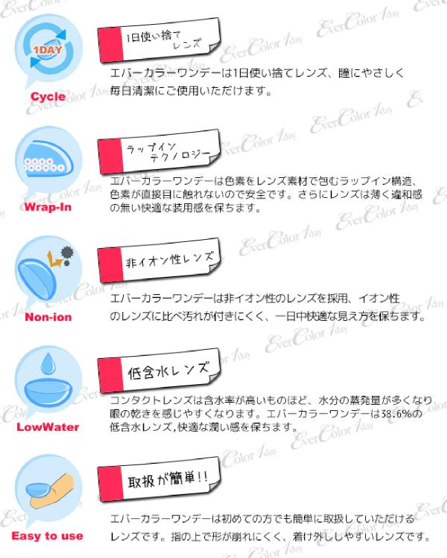 EverColor1dayHugU,エバーカラーワンデーハグユー,カラコン,カラーコンタクト,コンタクトレンズ,使い捨てカラコン,1日使い捨てコンタクト,ワンデー,1日使い捨て,Yuuri